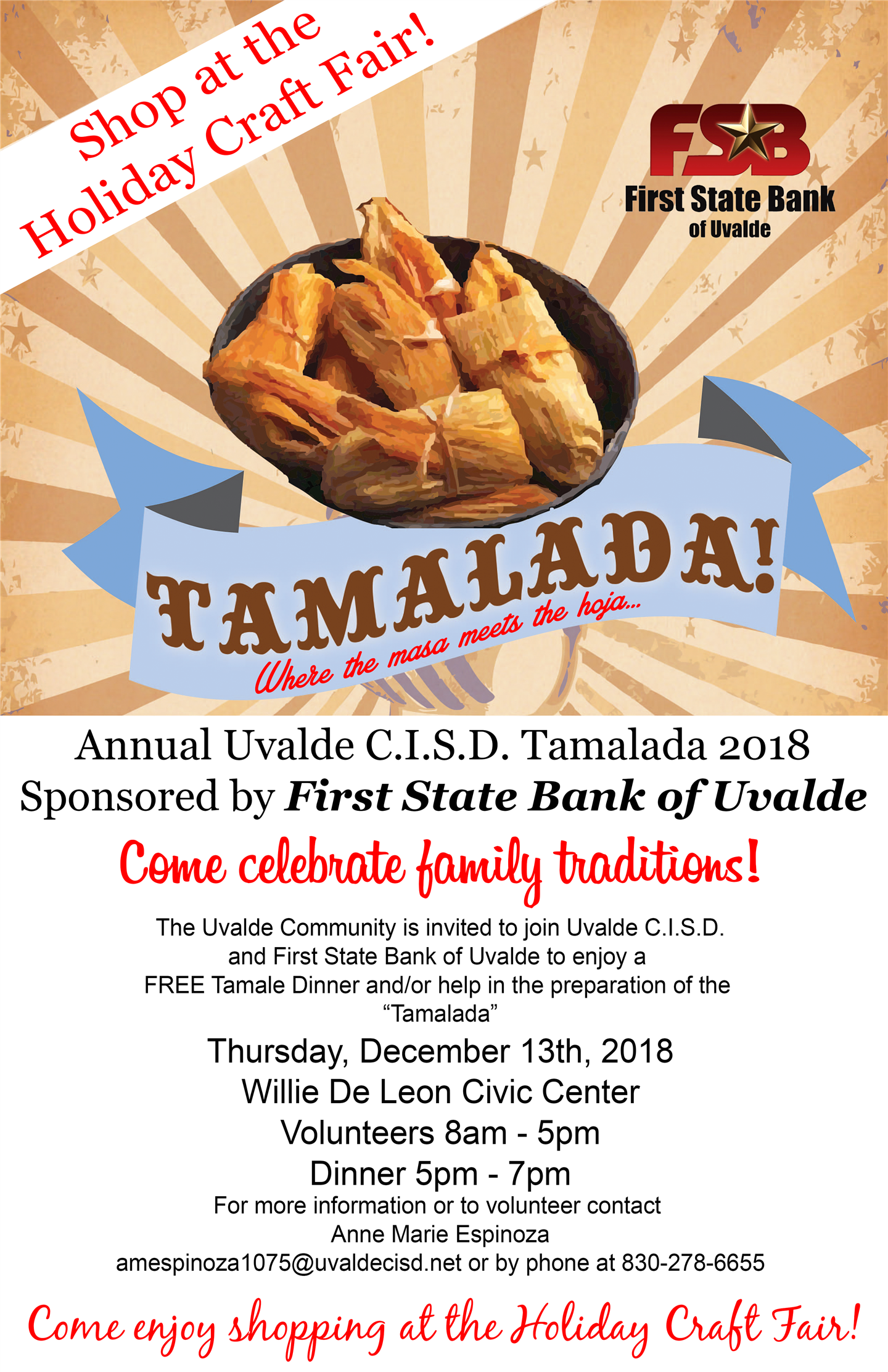 13th annual tamalada