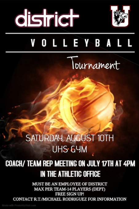district volleyball tournament