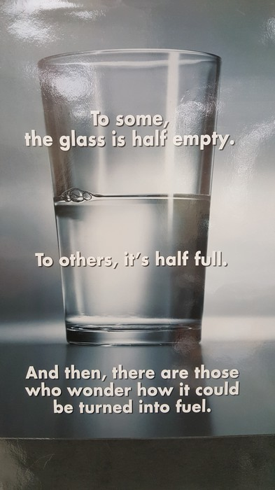 picture of a glass half full